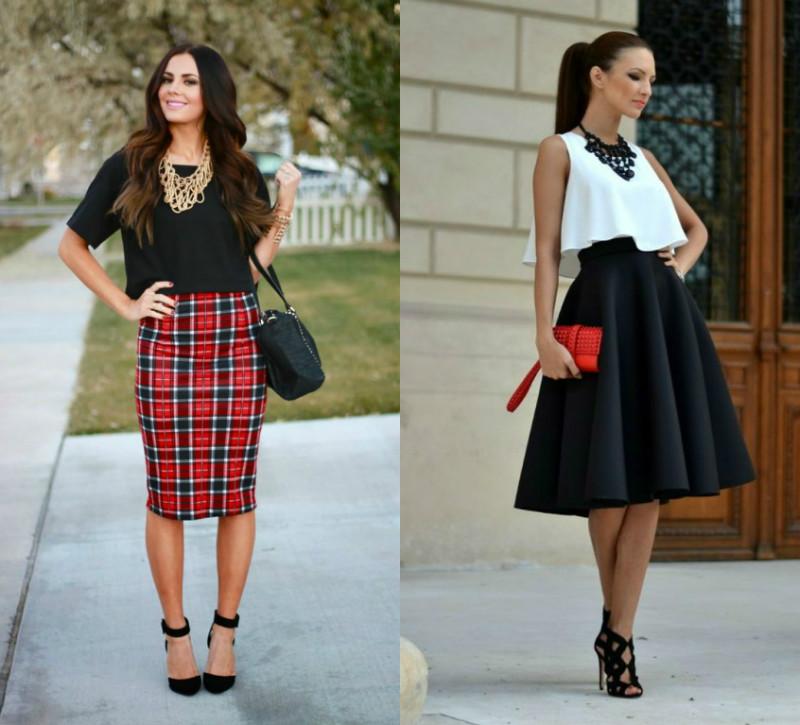 b5197ade87a7 Юные девушки могут выбрать пышные короткие юбочки, дамы постарше предпочтут  модели, прикрывающие колени.