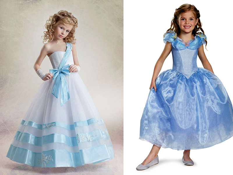 Виды платьев для девочек
