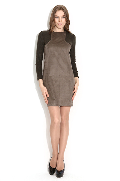 Женственное замшевое платье: советы по выбору и комплектованию, Мода от