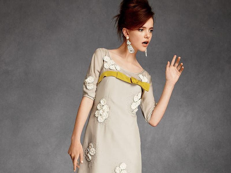 Очаровательные платья в стиле 60-х годов – хит мировой моды