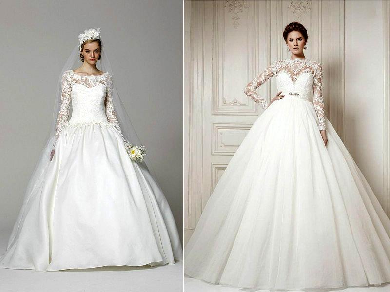 Фото свадебных платьев в обтяжку
