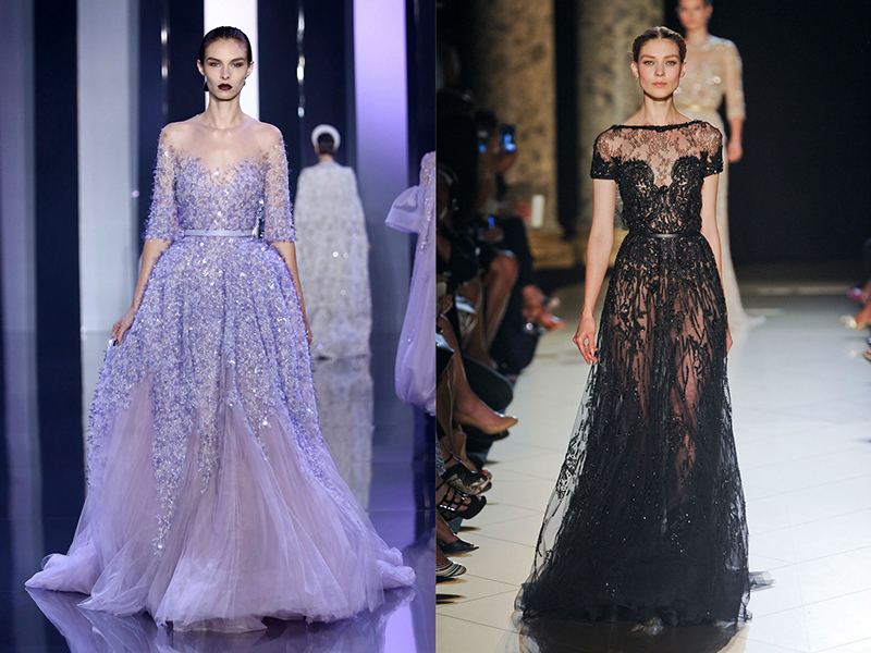 Смотреть фото платья прозрачные
