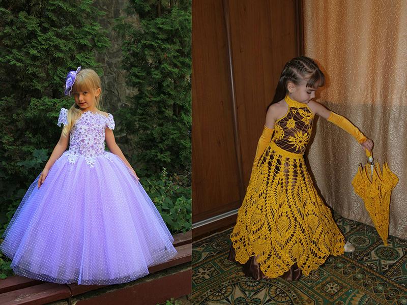 Платья на выпускной в сад цена