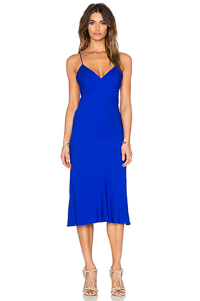 Платье Синее С Золотом