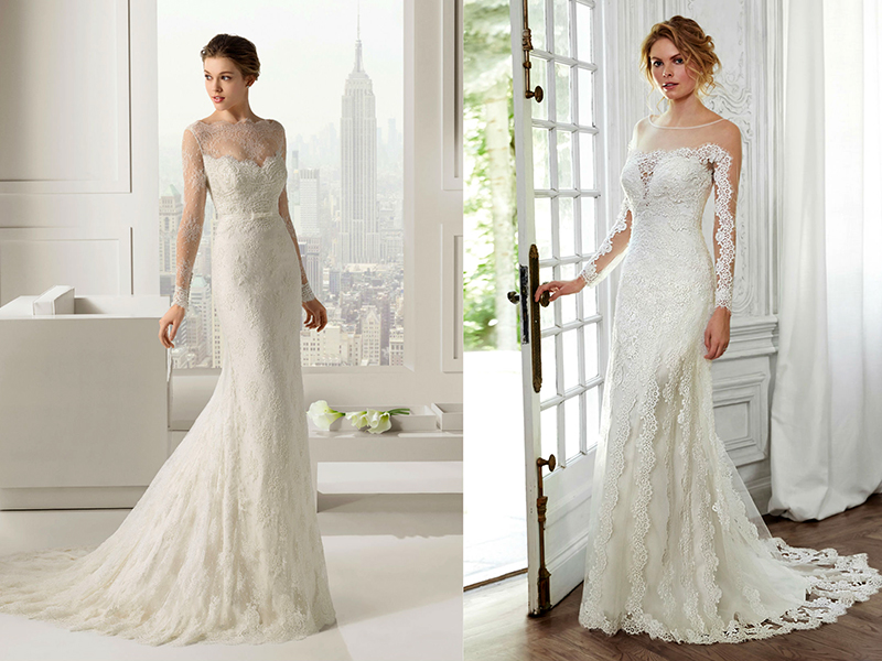 Свадебные платья для высоких и стройных