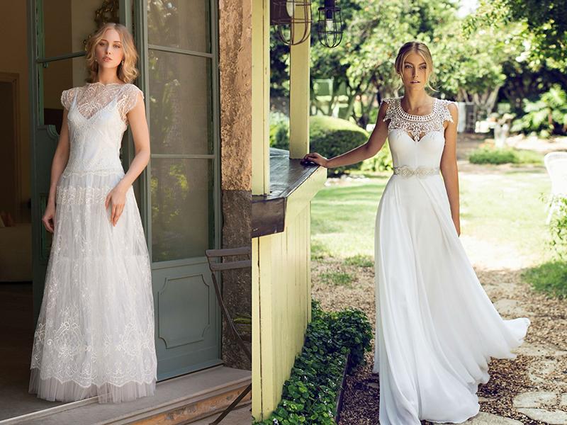Свадебные платья расклешенное