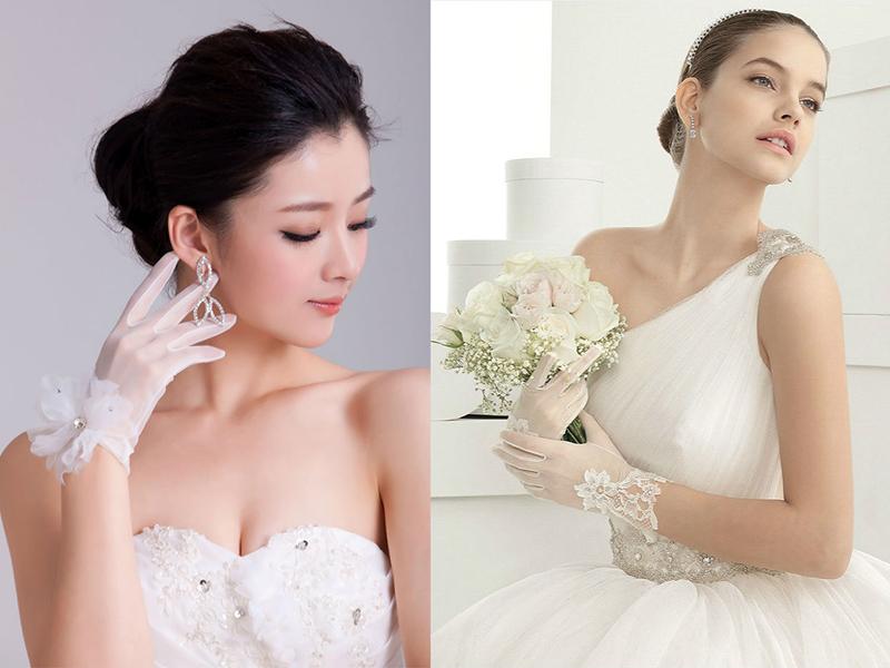 К короткому свадебному платья нужны