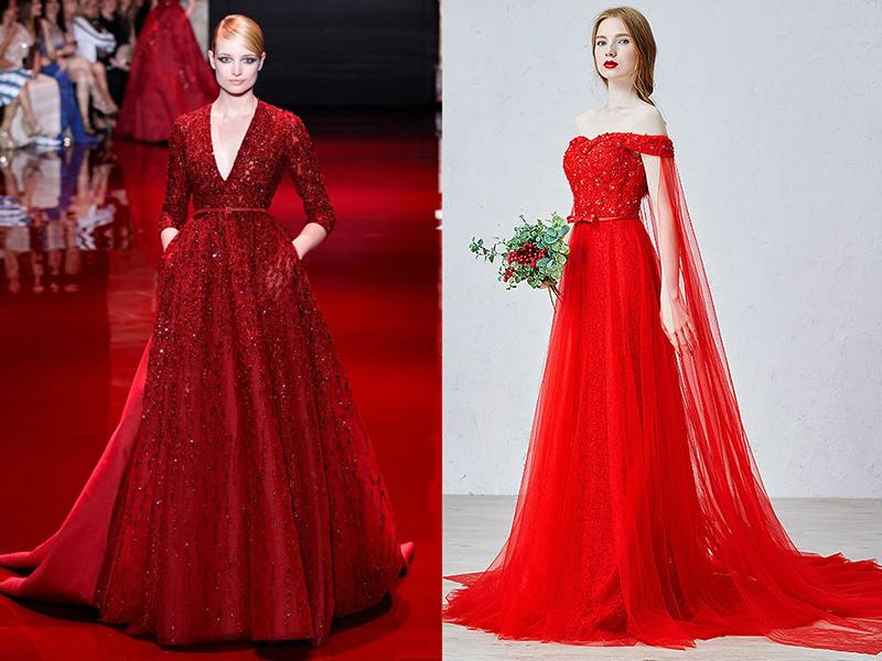 Красное платье что значит