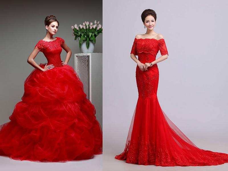 Приснилось красное свадебное платье