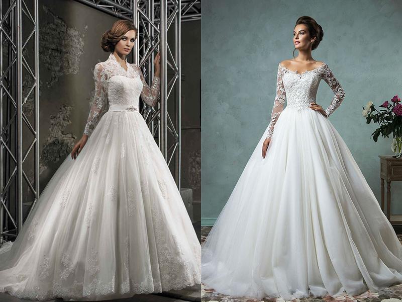 Из чего делают свадебную юбку