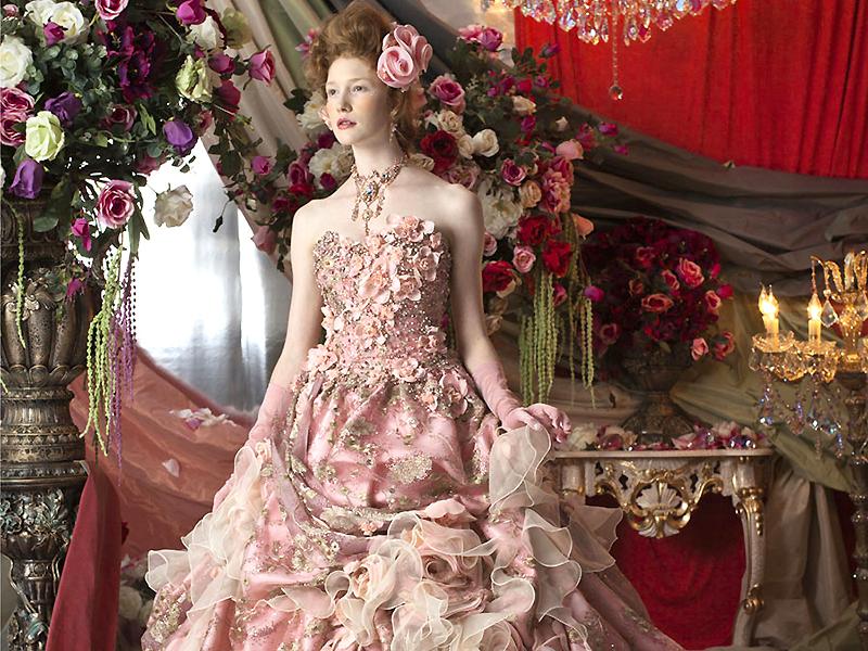 Цветные свадебные платья – для свадьбы в необычном стиле