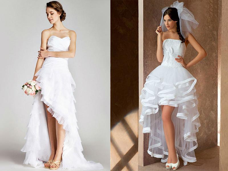 97f3c3eaab63 Свадебные платья для невысоких девушек  лучшие модели сезона