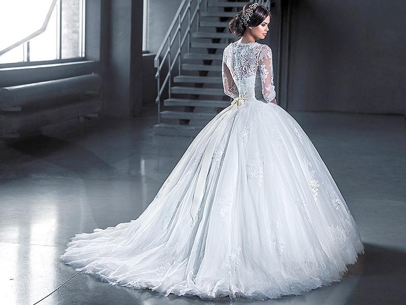 фото красивые платья пышные