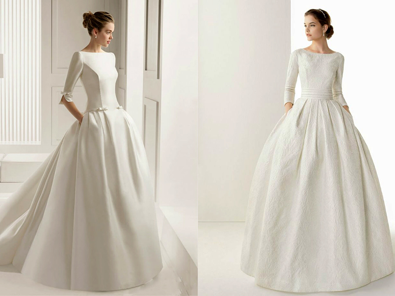 Классические свадебные платья: особенности стиля