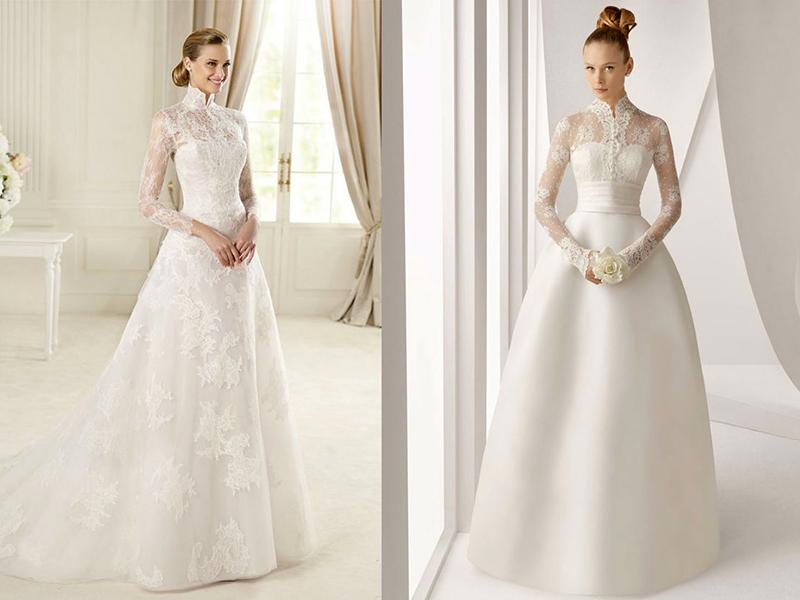Купить Закрытые Свадебные Платья