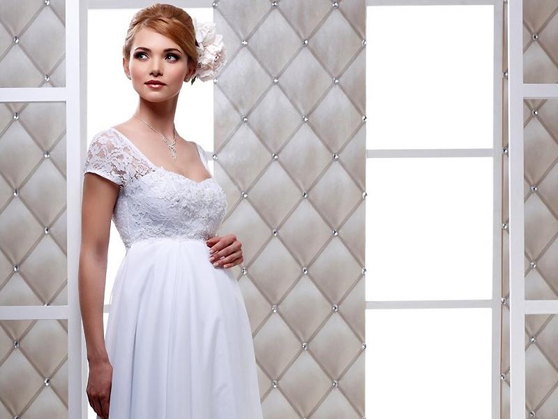 ... свадебные платья для беременных разнообразных фасонов и расцветок. А  если подобрать готовую модель не удается, то наряд можно сшить в ателье. 0ac4d5e10ed