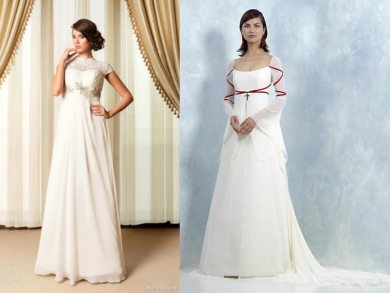 Свадебное Платье Купить Ампир