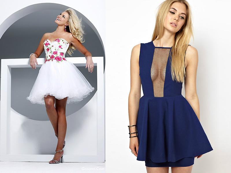 фасоны платьев картинки