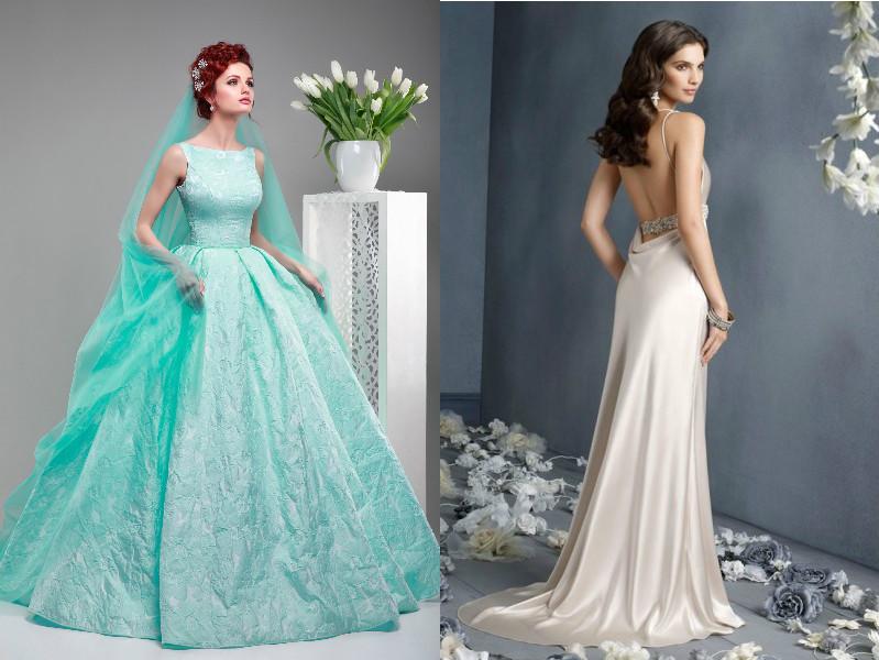 Свадебные платья красивые не белые