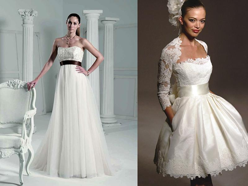 Бант на пояс свадебного платья
