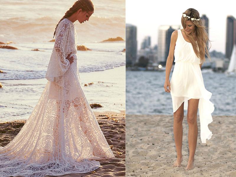 Платья Свадебные Пляжные Купить