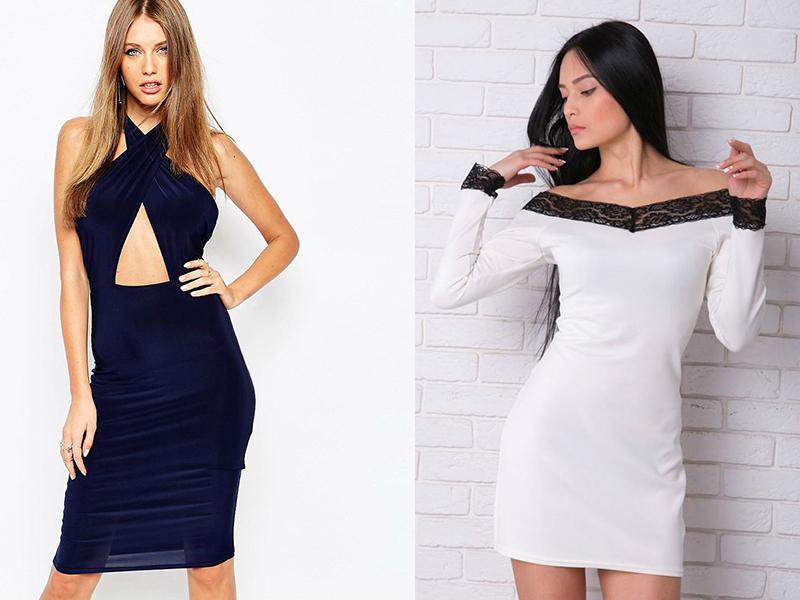 Платья на плечах модели фото