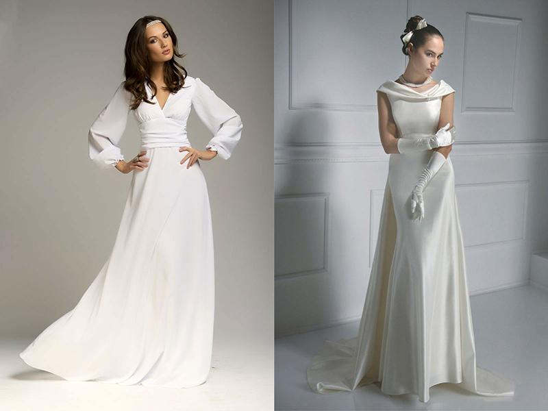 Свадебные платья не длинные