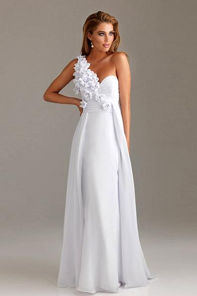 Свадебные белые вечерние платья