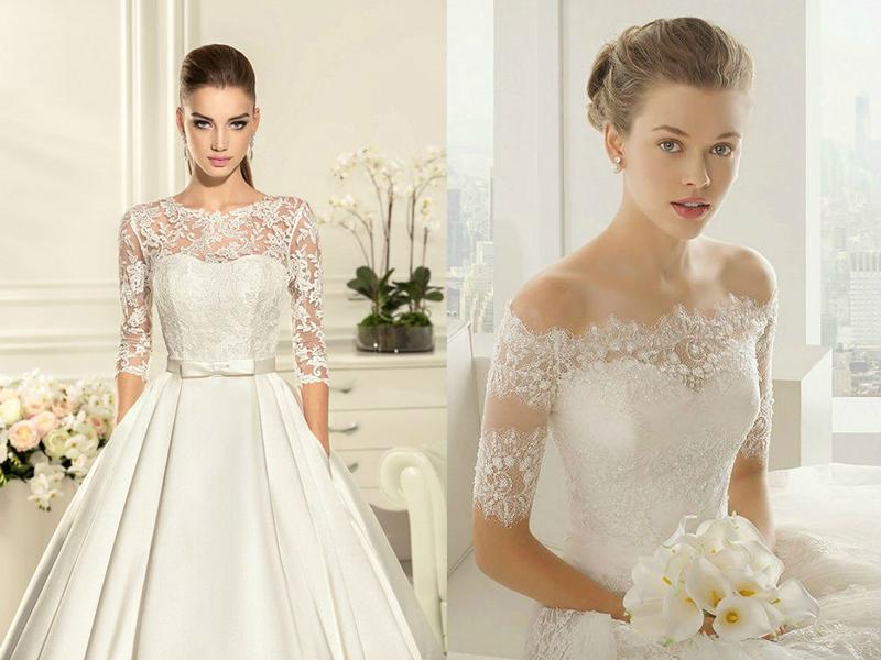 Украшения под свадебные платья