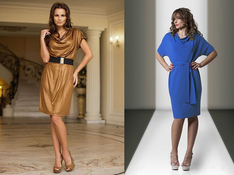 Различные рукава у платья