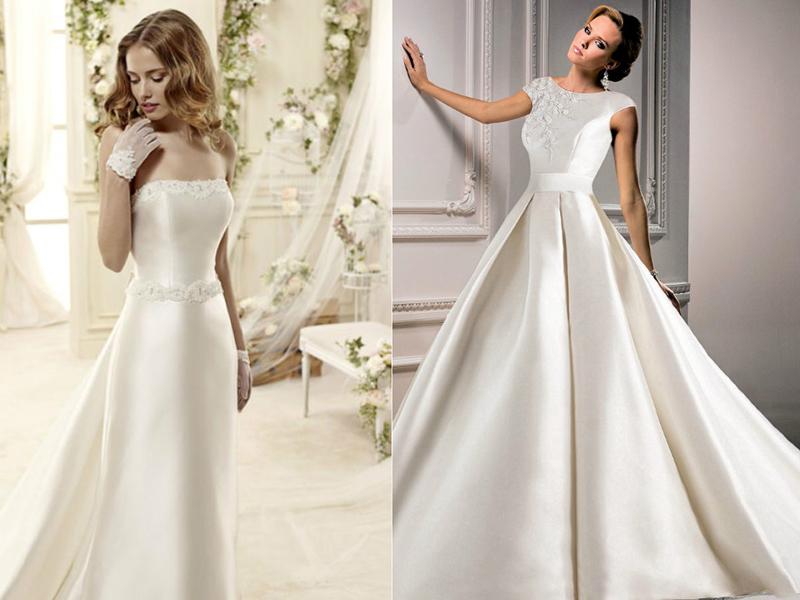 Материал на свадебное платье фото
