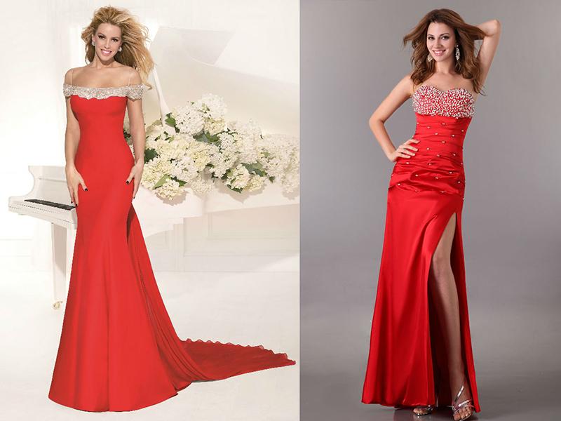 Платья Красные Вечерние Купить