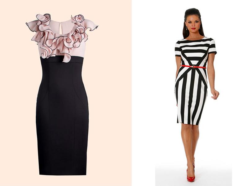 Платье с коррекцией фигуры
