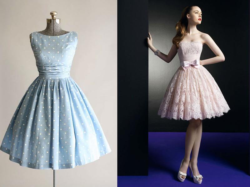 Платье с юбкой с татьянкой