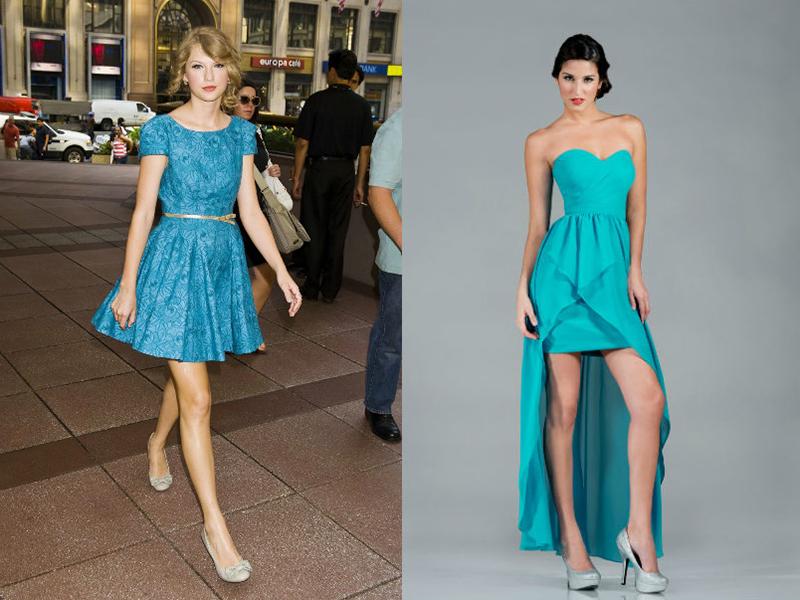 Подобрать цвет обуви под платье