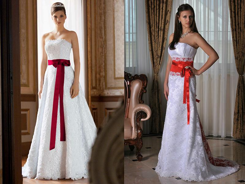 Как завязывать бант на свадебном платье