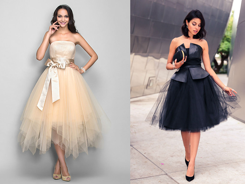 Как сделать себе платье длинное пышное