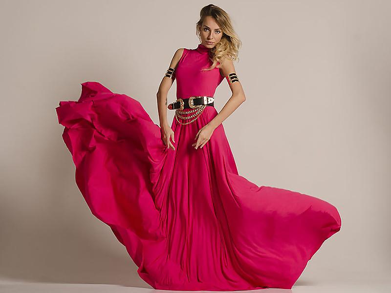 8fdf1b5ff2bc Платье с юбкой-солнце — женственность и легкость образа