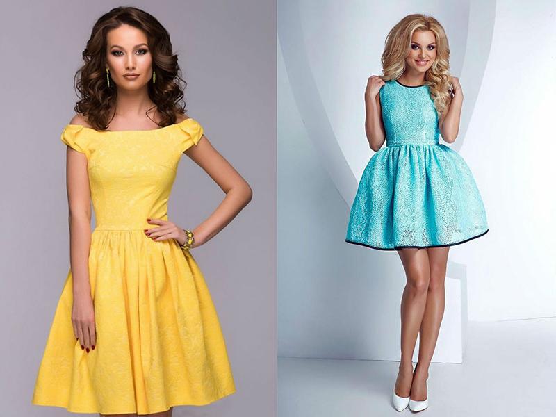 Какой фасон платье можно пошить