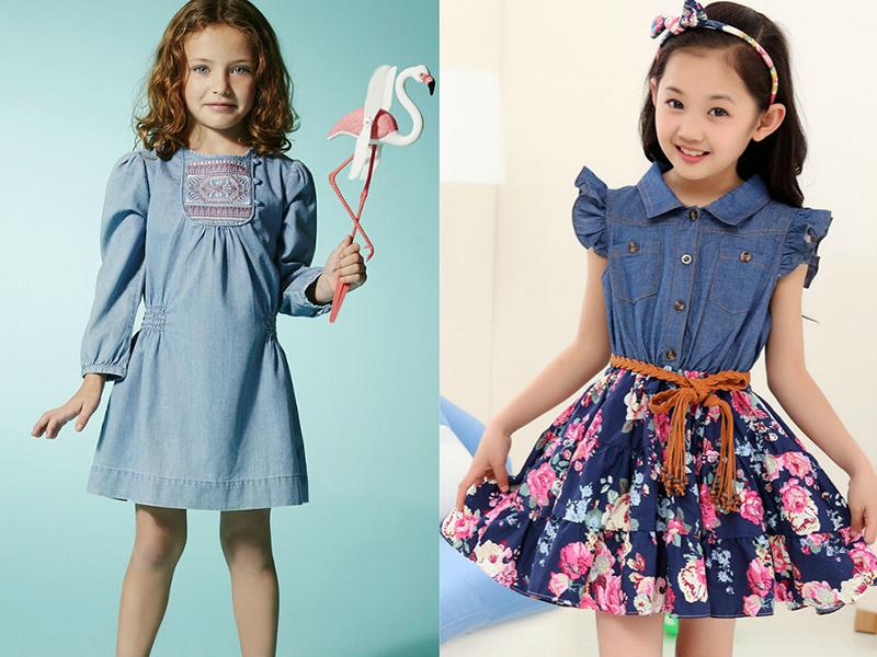 Изящные платья девочек