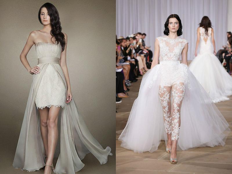 Платья-трансформеры на свадьбу