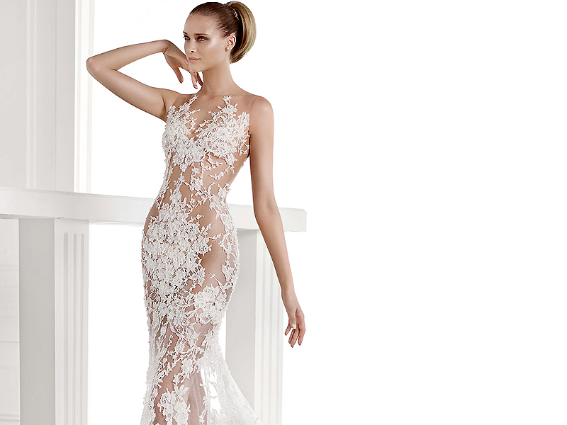 Фото платья прозрачный верх