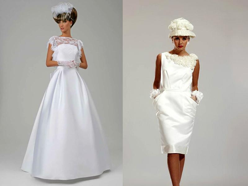 Скромные свадебные платья – не означает скучные