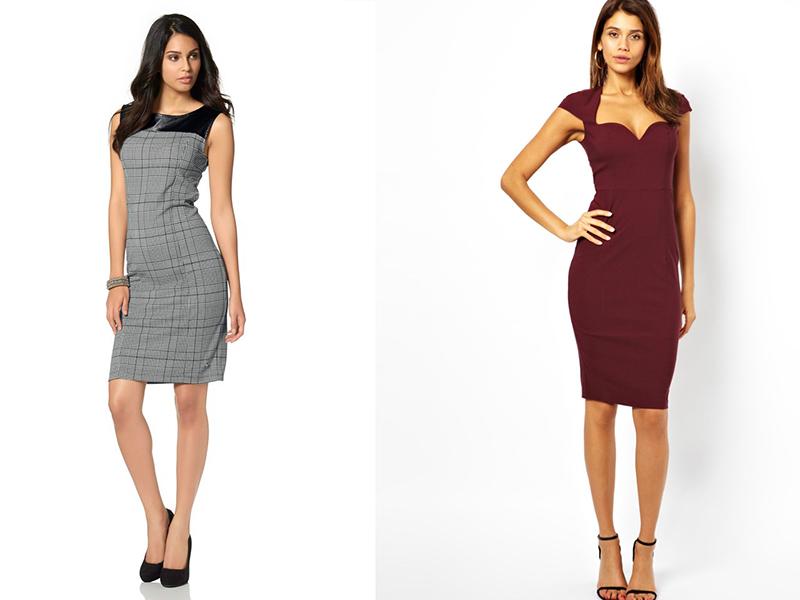 Классическое платье-футляр – фасон для любого случая 83638ec36c4db