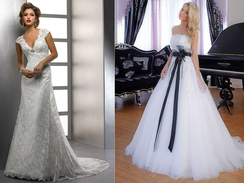 Купить Свадебное Платье А Силуэт