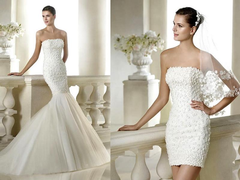 Необычные свадебные платья – выбор креативных невест