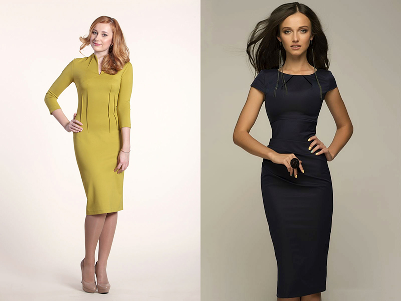 Классическое платье модель