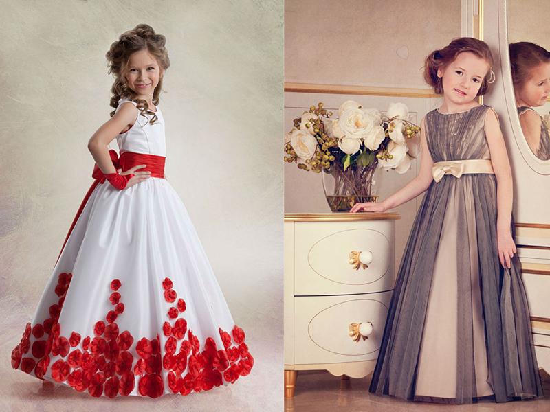 Фото выпускные платья для детского сада