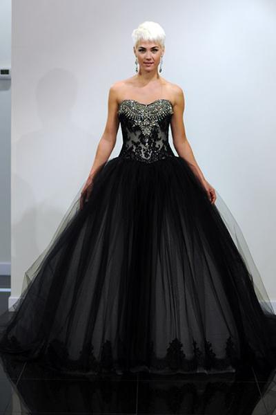 Черно-белое платье самые удачные композиции весны и лета 2013