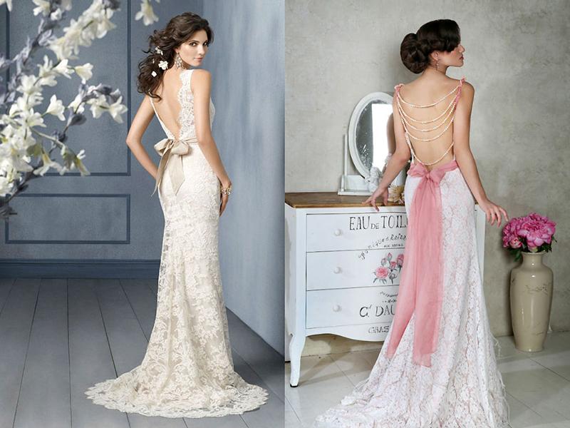 Как платье белое с цветным